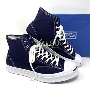 Converse Jack Purcell Signature High Canvas Navy M